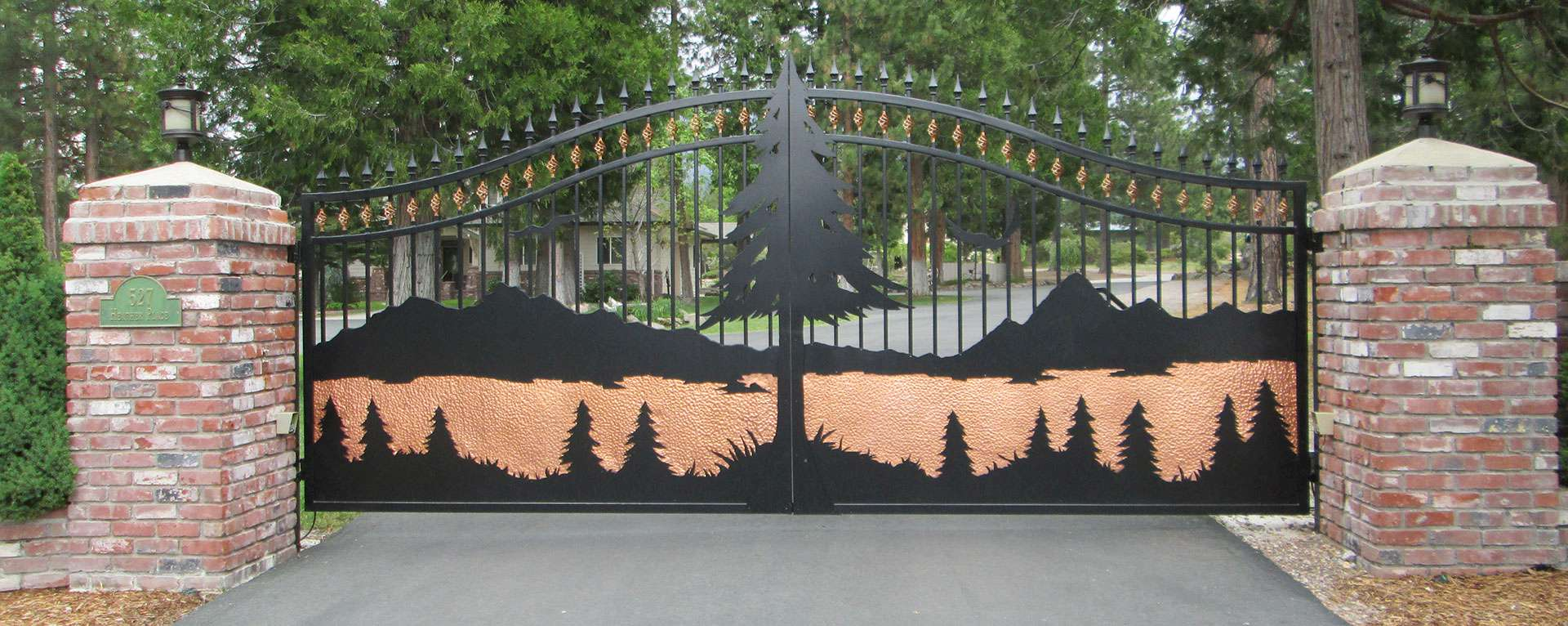 Make Your Home an Estate with a Signature Gate! | Signature Gates & Controls